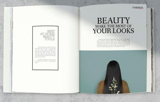 Publication graphic design
