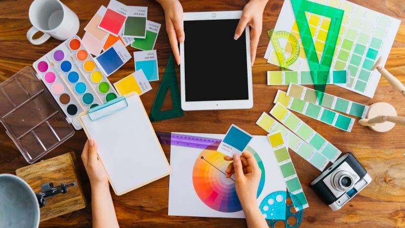 Blue Sky Graphics - How To Become A Graphic Designer?