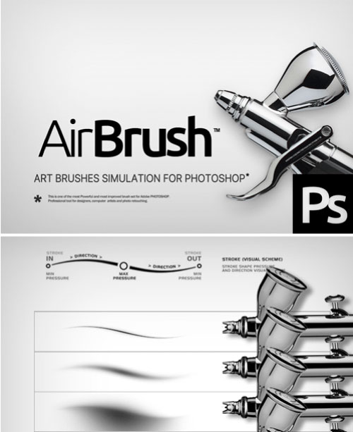 Graphic design dictionary - airbrush