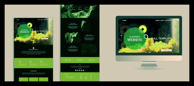 If you want a customised website, use an existing prototype or create a new interface yourself.