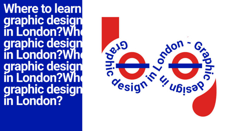 Where to learn graphic design in London?